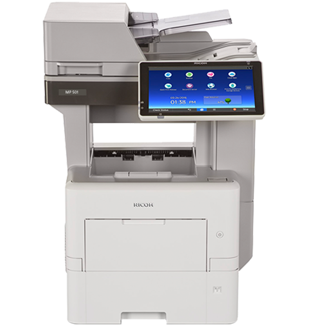 RICOH MP 501SPF with ARDF Network