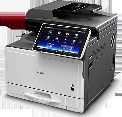 ricoh mp c307spf photocopier